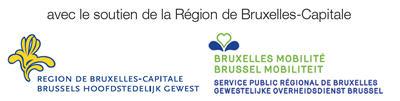 avec le soutien de la Région de Bruxelles-Capitale - logo